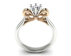 Ring 48 engagement-ring 3D print model