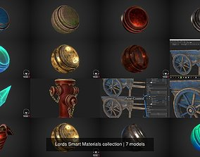 Lords Smart Materials collection 3D model