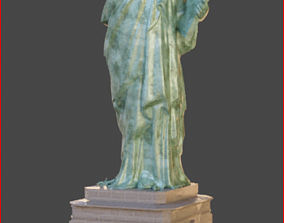 VR / AR ready Statue of Liberty 3d PBR Model