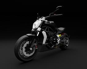 3D asset Ducati Diavel
