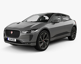 Jaguar I-Pace EV400 HSE with HQ interior and engine 3D