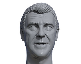 Jack Tunney 3D printable portrait sculpture