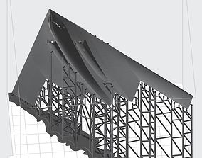 3D printable model B2 Bomber Stealth Re-Surfaced