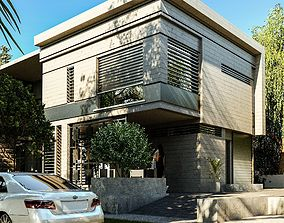 sketchup VRAY SCENE WiTH FULL MODEL AND TEXTURES AND