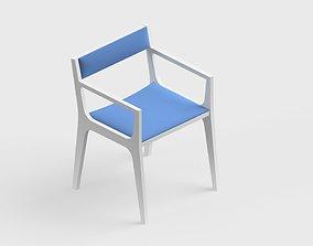 armchair modern 02 3D
