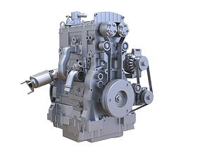 propulsion 3D model Diesel Engine