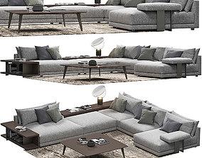 Poliform Bristol Sofa 3D