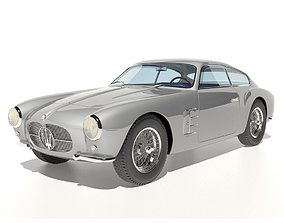 Maserati A6G Zagato no 2124 3D model