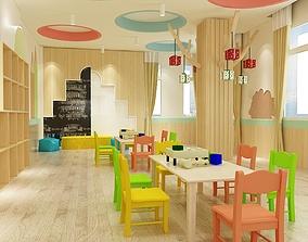 3D Kids classroom 04