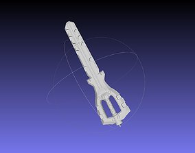 3D print model Kingdom Hearts Braveheart Keyblade Assembly