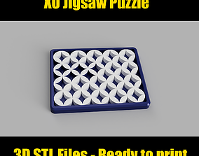 3D print model XO jigsaw puzzle