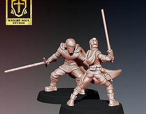 PACK LAST KNIGHT V FALLEN KNIGHT 3D print model