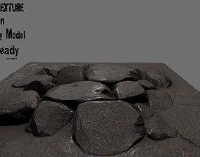 floor rock 5 3D asset