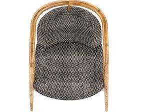 3D model essex armchair