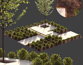 3D model Landscape design