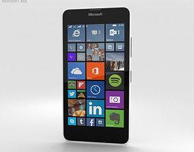 3D model Microsoft Lumia 640 LTE White