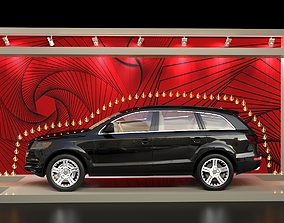 3D model Audi Car Display