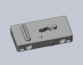 HTC Vive Adapter Editable Basis 3D print model
