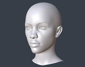 Female head 3D model art