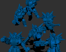 3D printable model Black Knights - Air Superiority