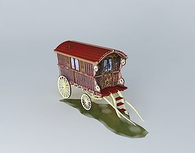 ledge 3D Romany Wagon READING Style Amended