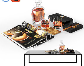 Whiskey Decor 3D