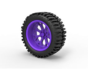 3D print model Diecast offroad wheel for lifted trucks