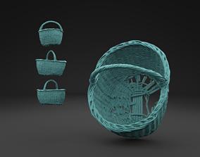 Scanned Old Basket 3D Print Model