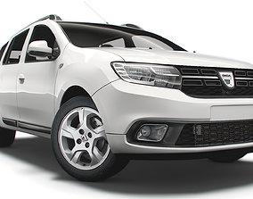 Dacia Logan MCV 2019 3D model