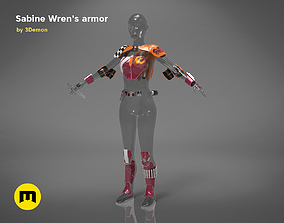 3D printable model Sabine Wrens armor