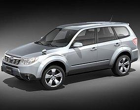 Subaru Forester 2009 3D