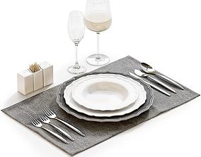 3D model Table setting 21