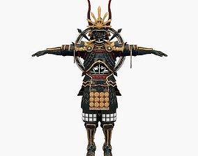 3D asset Ghost Samurai