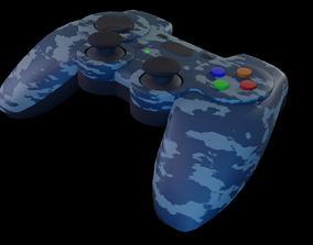 Gamepad 3D asset