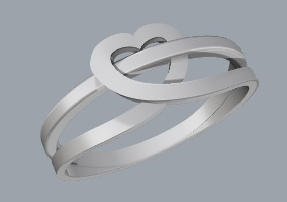 Ring heart love