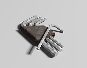 Hex Key screwier 3D