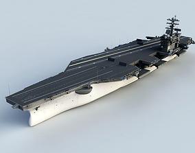 ship 3D model USS Aircraft carrier