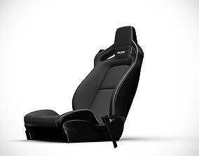 Racing Seat v5 3D model