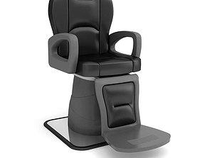 3D Leather Beauty Parlour Chair