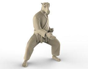 Horse Chop 3D print model