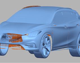 2019 Infiniti QX30 3D Scan Data 3D model 3D print model