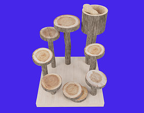 Step Stairs Climbing Hamster 3D model