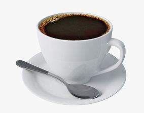 Cup of coffee 01 3D model