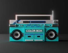 FUNKY BOOM BOX 3D model