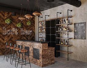 Loft Bar Collection 3 3D