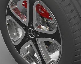 3D model Mercedes-Benz Wheel