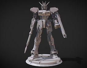 Strike Gundam 3D print model