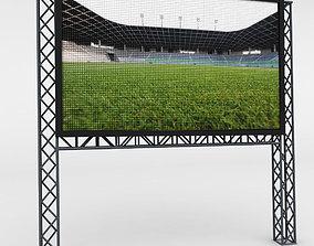 Telebim LED video scaffolding 3D girder