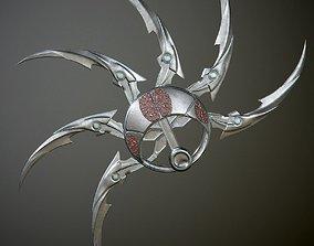 3D model Predator shuriken