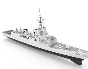 3D Hobart Class destroyer